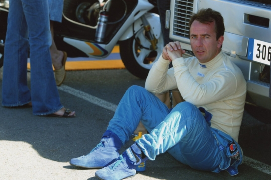 Noel taking shelter from the 42 degree heat - France 2003