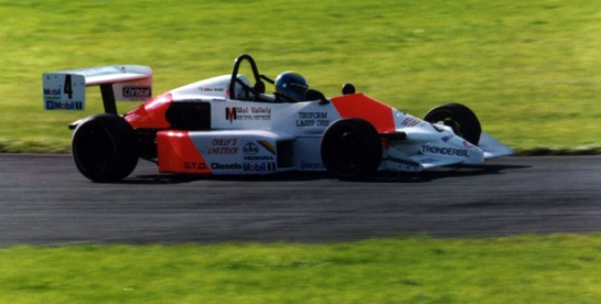British Formula Vauxhall 1990 (Race debut)