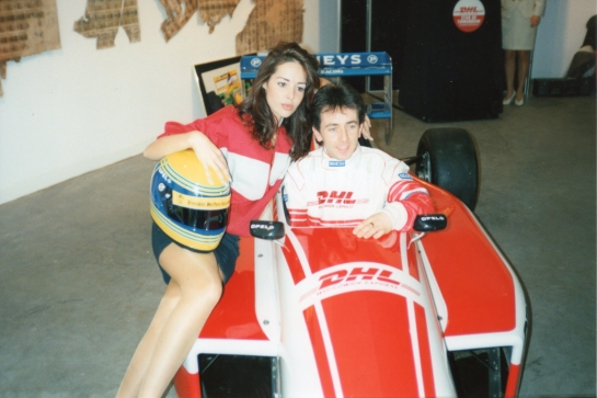 DHL Formula Opel Launch 1995
